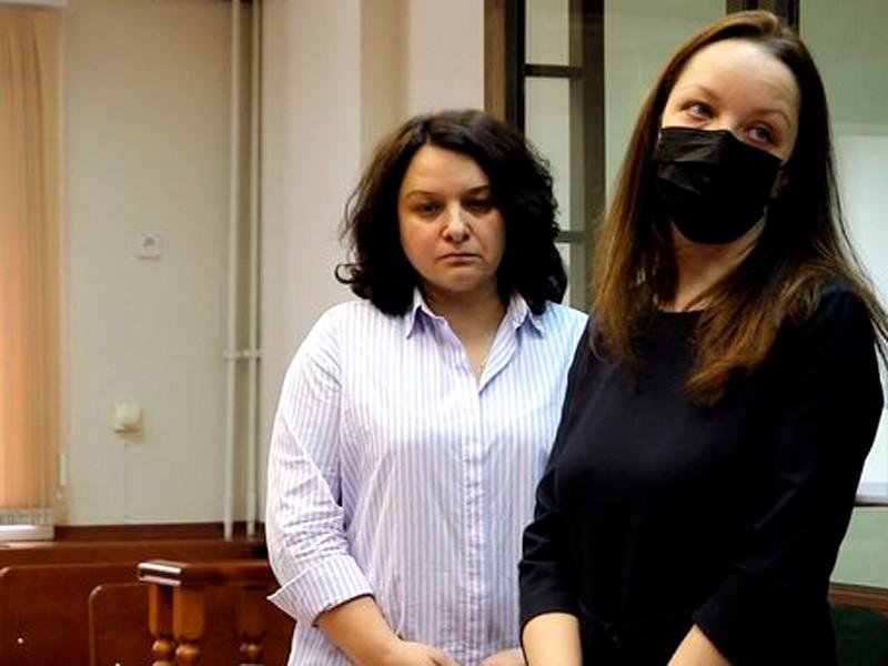 Мосгорсуд отменил приговор и прекратил дело врача-гематолога Елены Мисюриной (на фото - в центре)