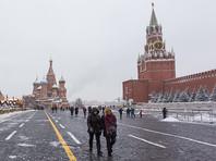 """Голый мужчина проводил на Красной площади перформанс """"Сон смешного человека"""". Менее чем через 0,5 минуты его задержали"""