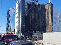 В Самаре проводится проверка по факту пожара в торгово-офисном здании