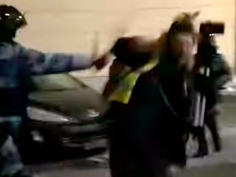 2 февраля, во время акции протеста после оглашения в суде приговора Алексею Навальному, омоновец дважды ударил Худокормова дубинкой по голове, когда тот снимал на видео, как полиция и Росгвардия разгоняют протестующих в Дмитровском переулке