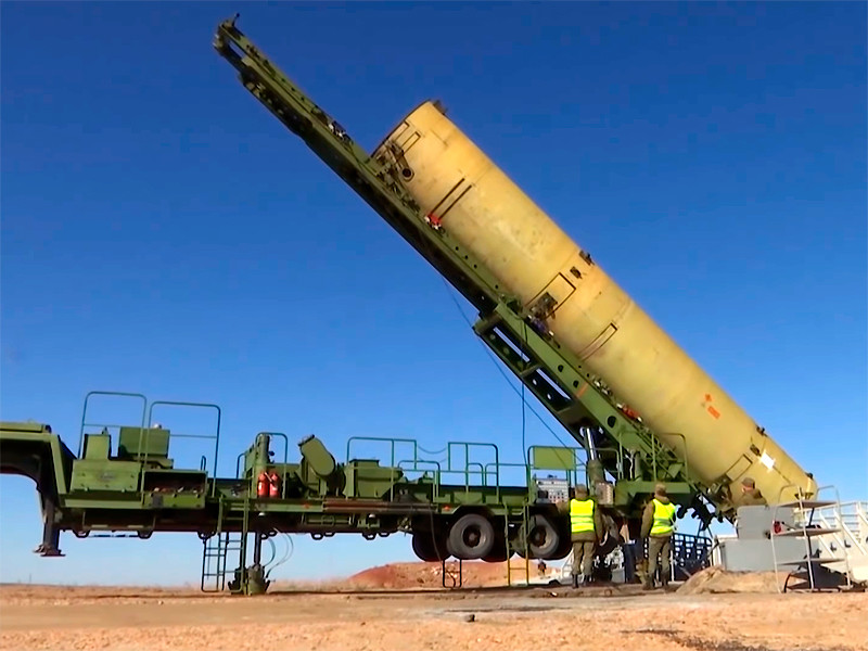 At the Sary-Shagan training ground in Kazakhstan, the combat crew of the air and missile defense forces of the Aerospace Forces successfully conducted another test launch of a new missile of the Russian missile defense system