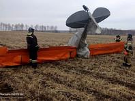 В Иркутской области упал легкомоторный самолет, два человека погибли
