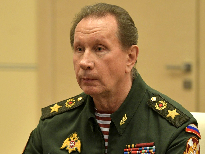 Директор Росгвардии генерал Виктор Золотов