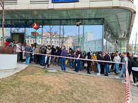 У московских офисов Turkish Airlines выстроились очереди туристов, желающих сдать билеты