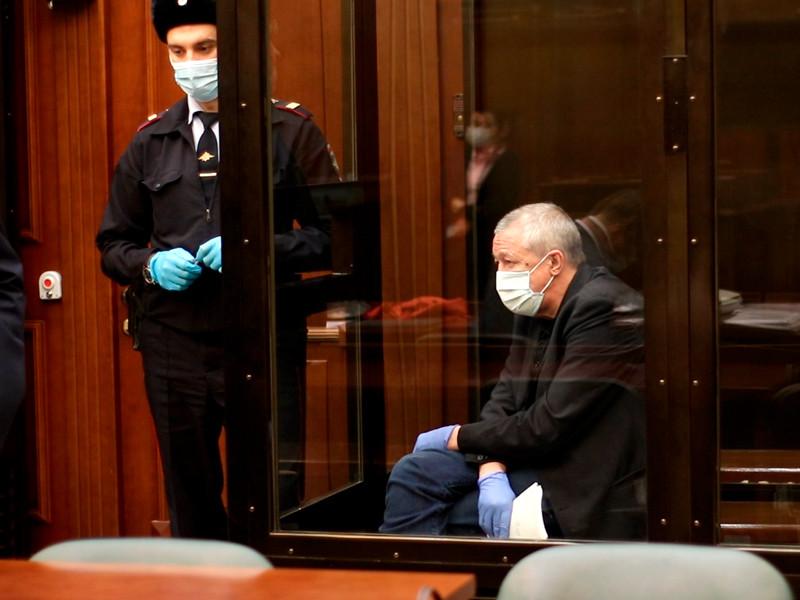 Михаил Ефремов в суде, октябрь 2020 года