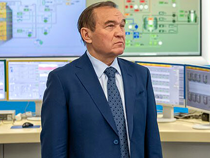 Deputy Mayor of Moscow Pyotr Biryukov