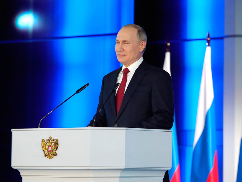 Putin will read a message to the Federal Assembly on April 21