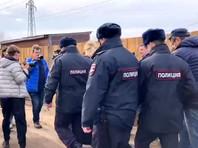 Задержание Анастасии Васильевой