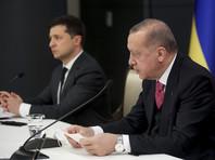 10 апреля Эрдоган на встрече с украинским президентом Владимиром Зеленским подтвердил свое принципиальное решение не признавать Крым российским, а также поддержал возможное вступление Украины в НАТО