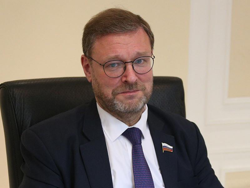 Заместитель председателя Совета Федерации Константин Косачев