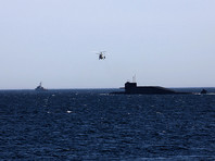 Подлодки и корабли Северного флота начали учения в Арктике