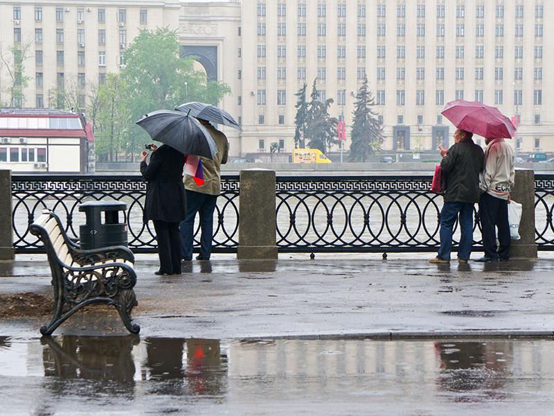 В Москве на Первомайские праздники ждут аномальных осадков и холодов