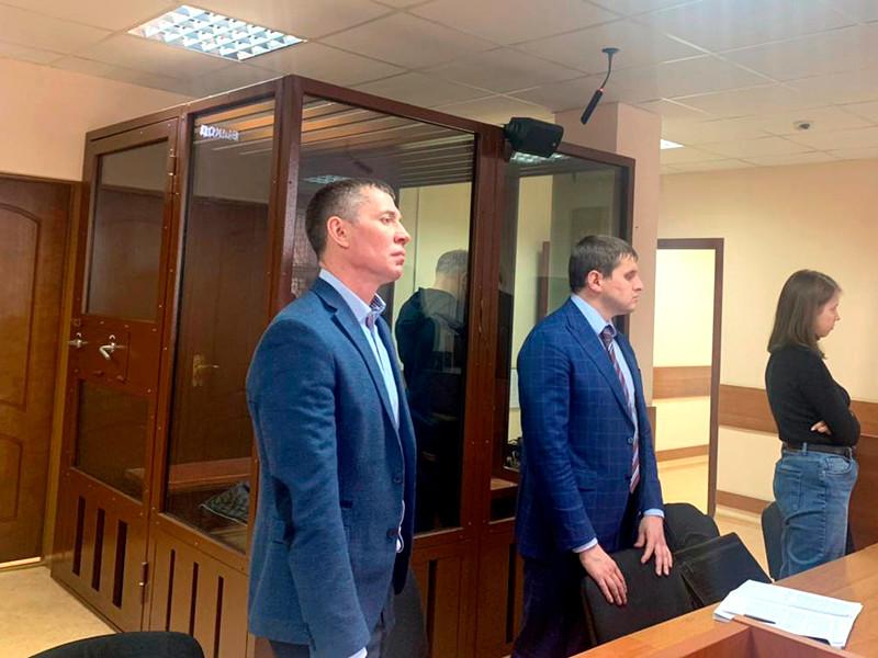 Пресненский районный суд арестовал до 7 июня адвоката Александра Горбатенко