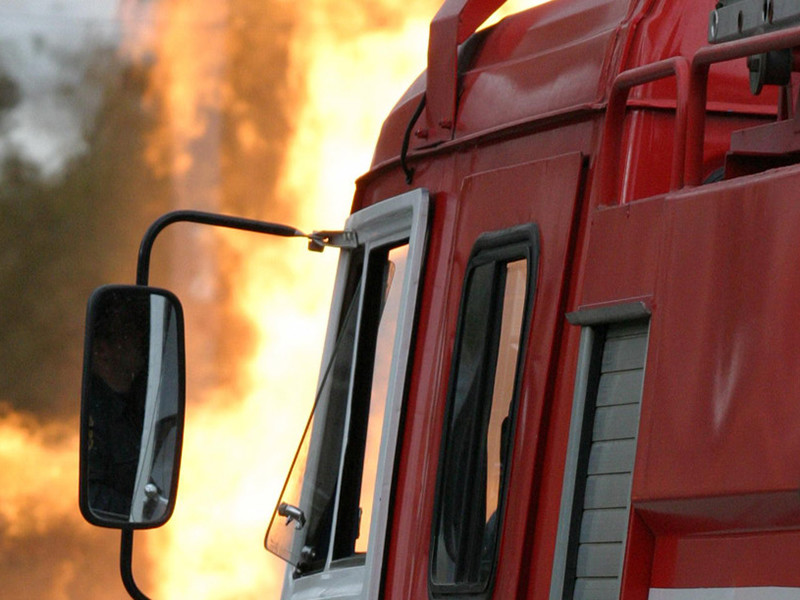 В дагестанской воинской части загорелся и взорвался танк