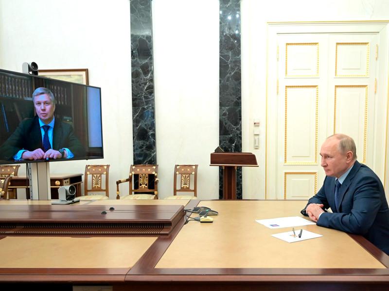 Президент РФ Владимир Путин назначил сенатора Алексея Русских временно исполняющим обязанности губернатора Ульяновской области