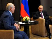"""Путин, начиная встречу с Лукашенко в Сочи, прокомментировал ситуацию с рейсом Ryanair словами """"всплеск эмоций"""""""