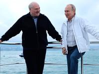 """Путин и Лукашенко покатались на яхте, договорились о втором транше российского кредита в $500 млн и о новых рейсах """"Белавиа"""" в РФ"""
