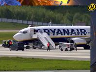 Экстренная посадка самолета Ryanair в Минске