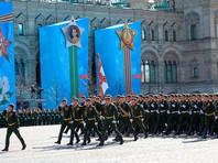 В столице началась генеральная репетиция парада Победы 9 мая