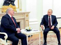 Владимир Путин и Александр Лукашенко, 22 апреля 2021 года