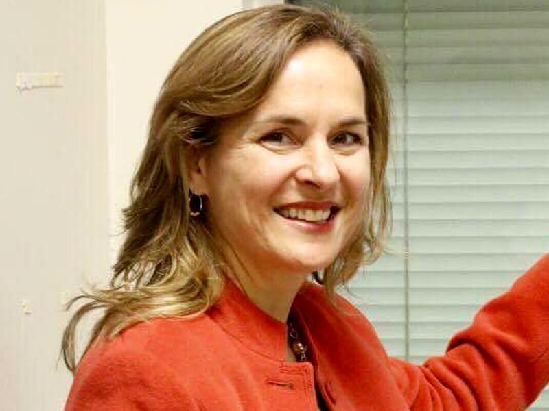 Пресс-секретарь посольства США в Москве Ребекка Росс