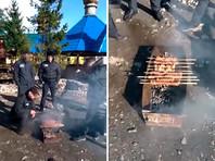 Прокуратура и УФСИН проводят проверку после ВИДЕО празднования Пасхи с шашлыками в рыбинской колонии