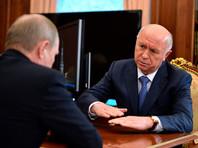 Владимир Путин и Николай Меркушкин