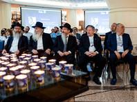 """Российский еврейский конгресс провел в Москве в воскресенье, 16 мая, акцию солидарности """"С Израилем против террора!"""" в Мемориальной синагоге на Поклонной горе"""