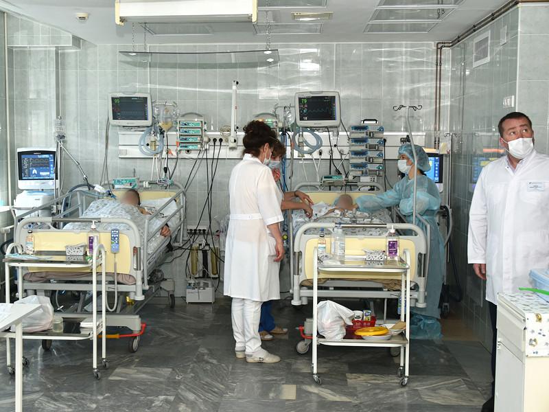 Пострадавшие после стрельбы в гимназии N175 в казанской Детской республиканской клинической больнице (ДРКБ), 12 мая 2021 года