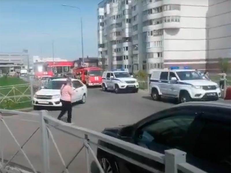 СМИ сообщили о стрельбе и взрыве в казанской школе