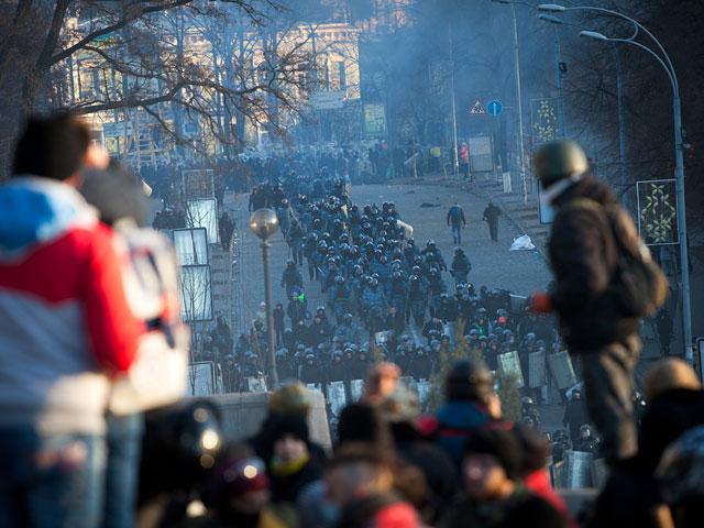 Киев, 18 февраля 2014 года