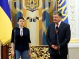 Самолет c Савченко приземлился в Киеве