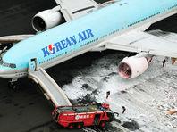 Самолет, следовавший рейсом 2708, готовился к вылету в Сеул. Внезапно у лайнера загорелся левый двигатель