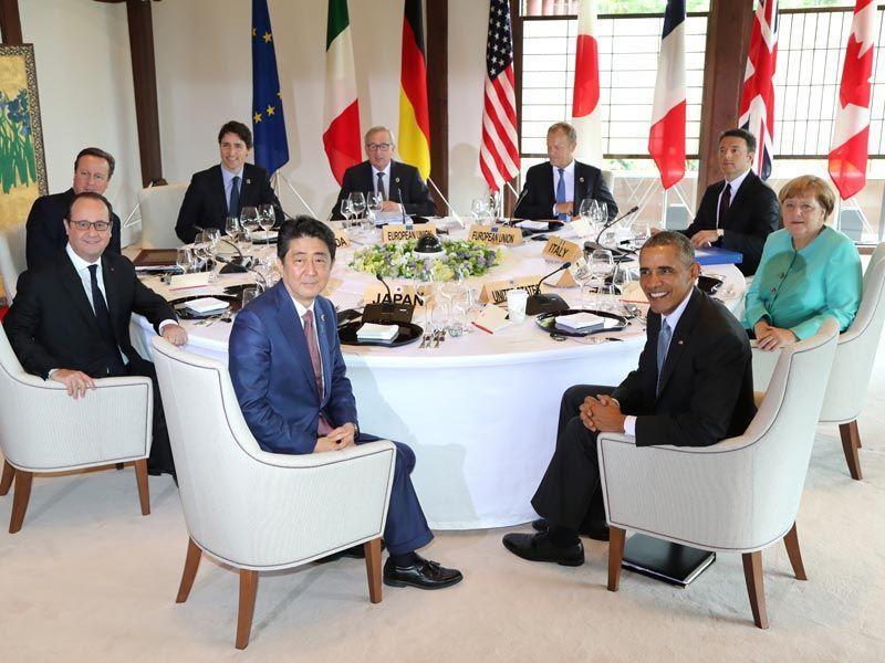 Саммит G7 в Японии, 26 мая 2016 года