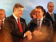 Порошенко назначил своим внештатным советником бывшего генсека НАТО Расмуссена, известного враждебностью к РФ