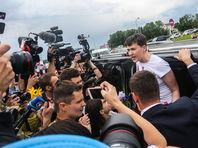 На Западе размышляют о значении освобождения Савченко для России и Украины