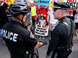 В штате Нью-Мексико акция против Трампа закончилась столкновениями с полицией