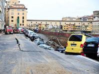 Ущерб от провала грунта в центре Флоренции оценили в пять миллионов евро