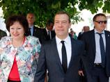 Киев направил Москве ноту протеста из-за визита Медведева в Крым