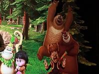 В Пекине убрали фигуры медведей из мультика, посчитав, что они показывают неприличные жесты в сторону правительственных зданий