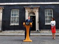 Премьер-министр Великобритании Дэвид Кэмерон объявил об отставке