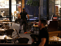 На территории торгово-развлекательного комплекса в центре Тель-Авива произошла стрельба