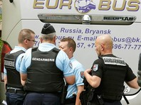 Во Франции подтвердили решение депортировать группу российских болельщиков, сообщает пресса