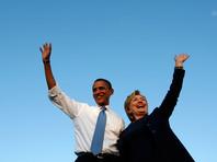 """Сама Клинтон, в свою очередь, написала, что считает большой честью поддержку Обамы. """"Я воодущевлена и готова бороться"""", - добавила она"""