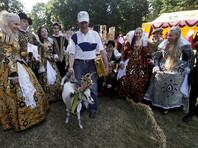 В Литве выбрали самую красивую козу