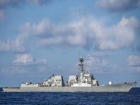 """Ранее в военном ведомстве США заявили, что российский корабль класса """"Неустрашимый"""" прошел в 300 метрах от американского эсминца Gravely и на расстоянии около 9 километров от авианосца Harry S. Truman в восточной части Средиземного моря"""