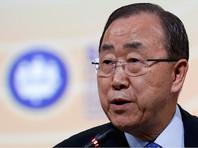 Пан Ги Мун не откажется от слов о России из-за недовольства Украины