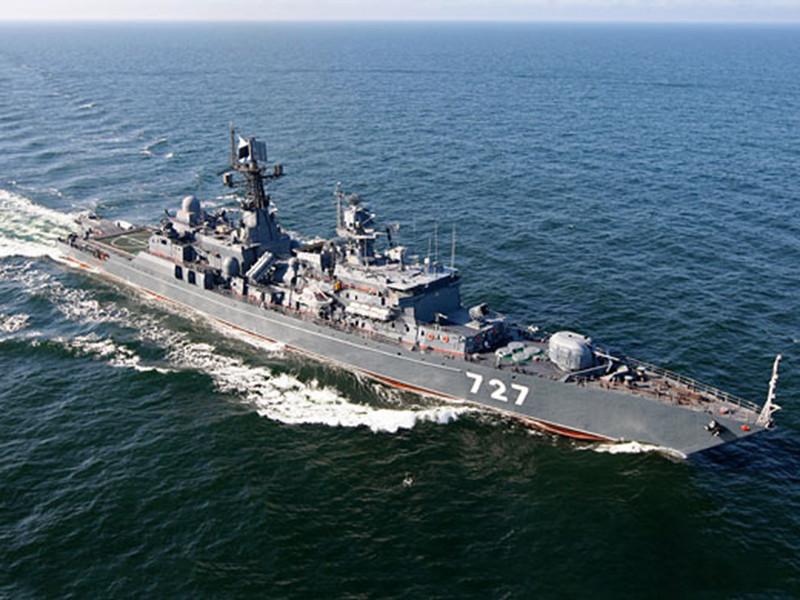 """В Соединенных Штатах продолжают настаивать на том, что недавнее опасное сближение американского эсминца Gravely с боевым кораблем флота РФ """"Ярослав Мудрый"""" в Средиземном море произошло по вине российской стороны"""