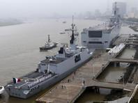 Построенный для России Mistral отплыл из Франции в Египет