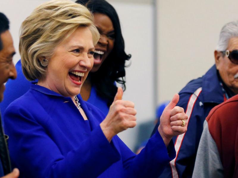 Хиллари Клинтон, претендент на выдвижение кандидатом в президенты от Демократической партии США